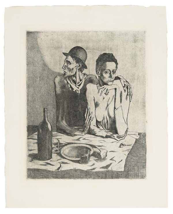 Pablo Picasso's The Frugal Meal